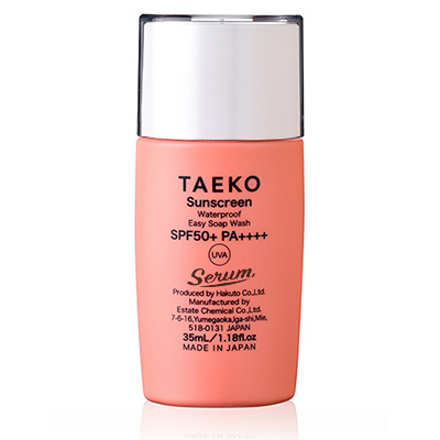 画像1: TAEKO  サンスクリーン (日焼け止め美容液) (1)