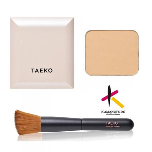 画像1: TAEKOフィニッシングセット【レフィル+コンパクトケース+ブラシ】 (1)